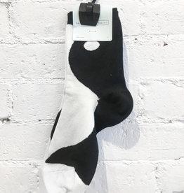 Hansel From Basel Yin and Yang Socks