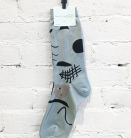 Hansel From Basel Abstract Face Socks