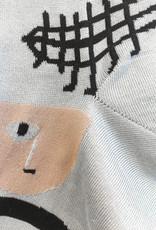 Hansel From Basel Abstract Face Socks