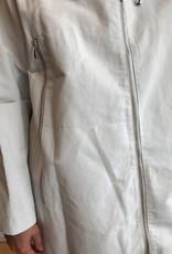 Prêt Pour Partir Zip Up Raincoat- Grey