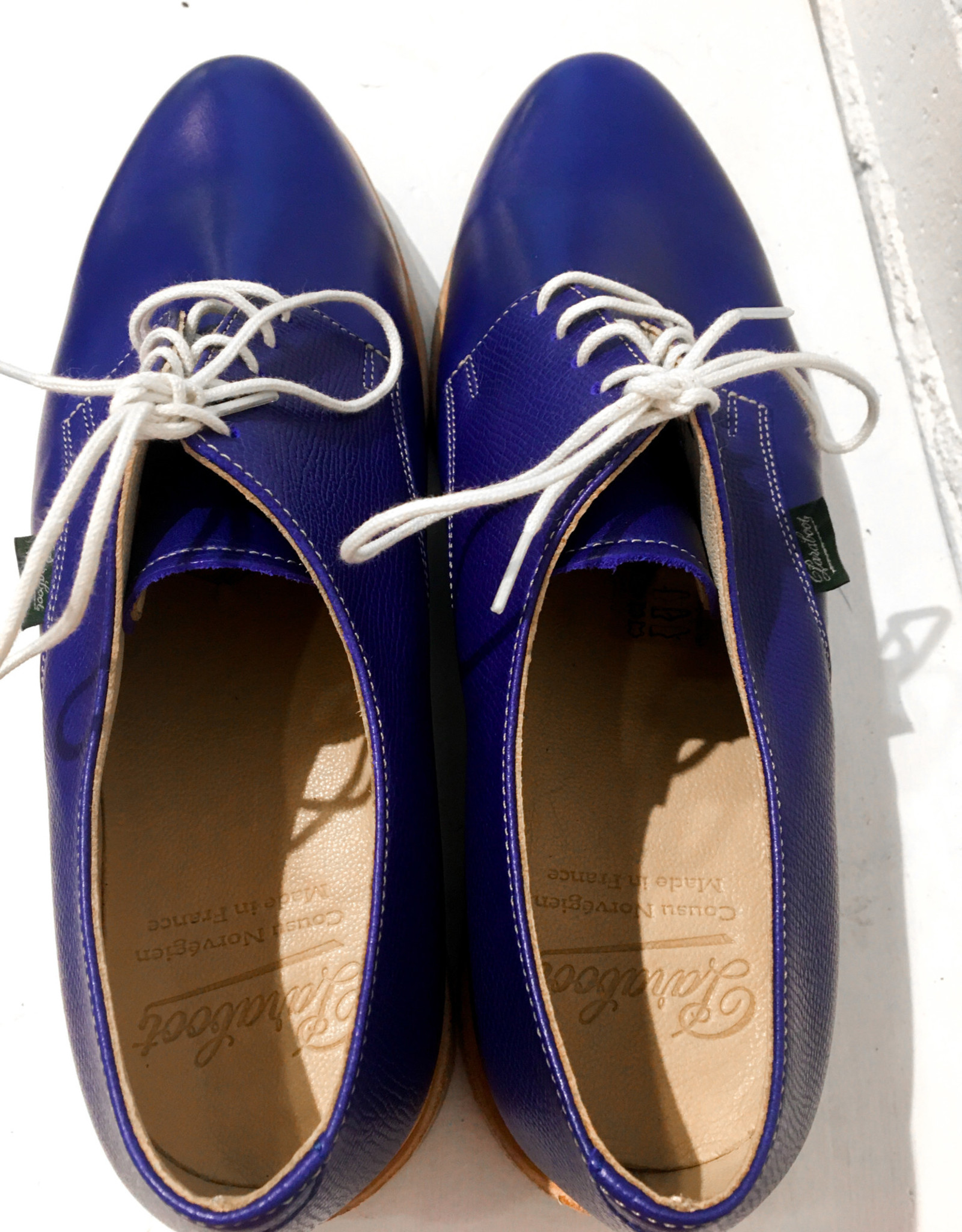 Paraboot Issy Shoes- Blue