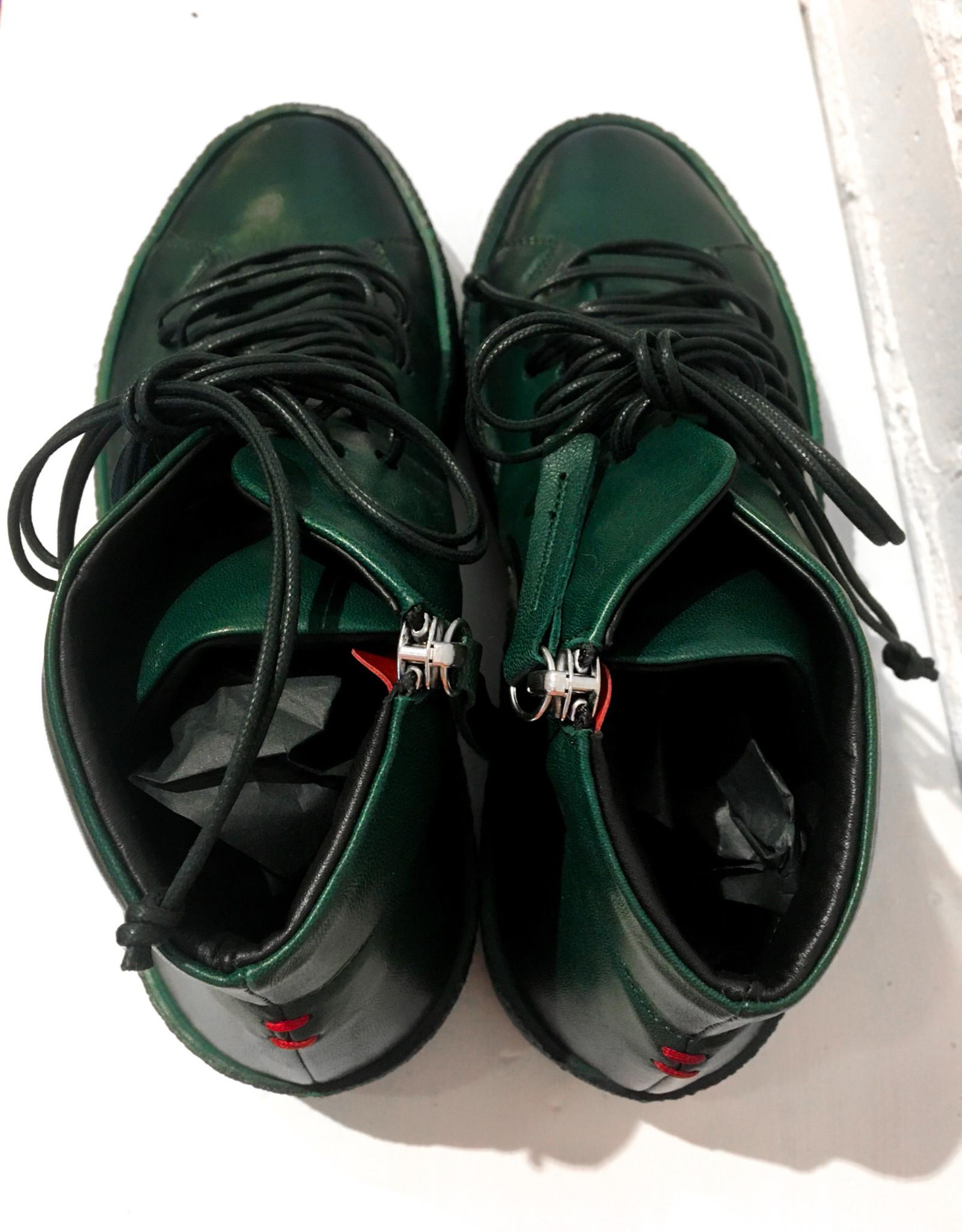 Halmanera High Top Sneaker Green