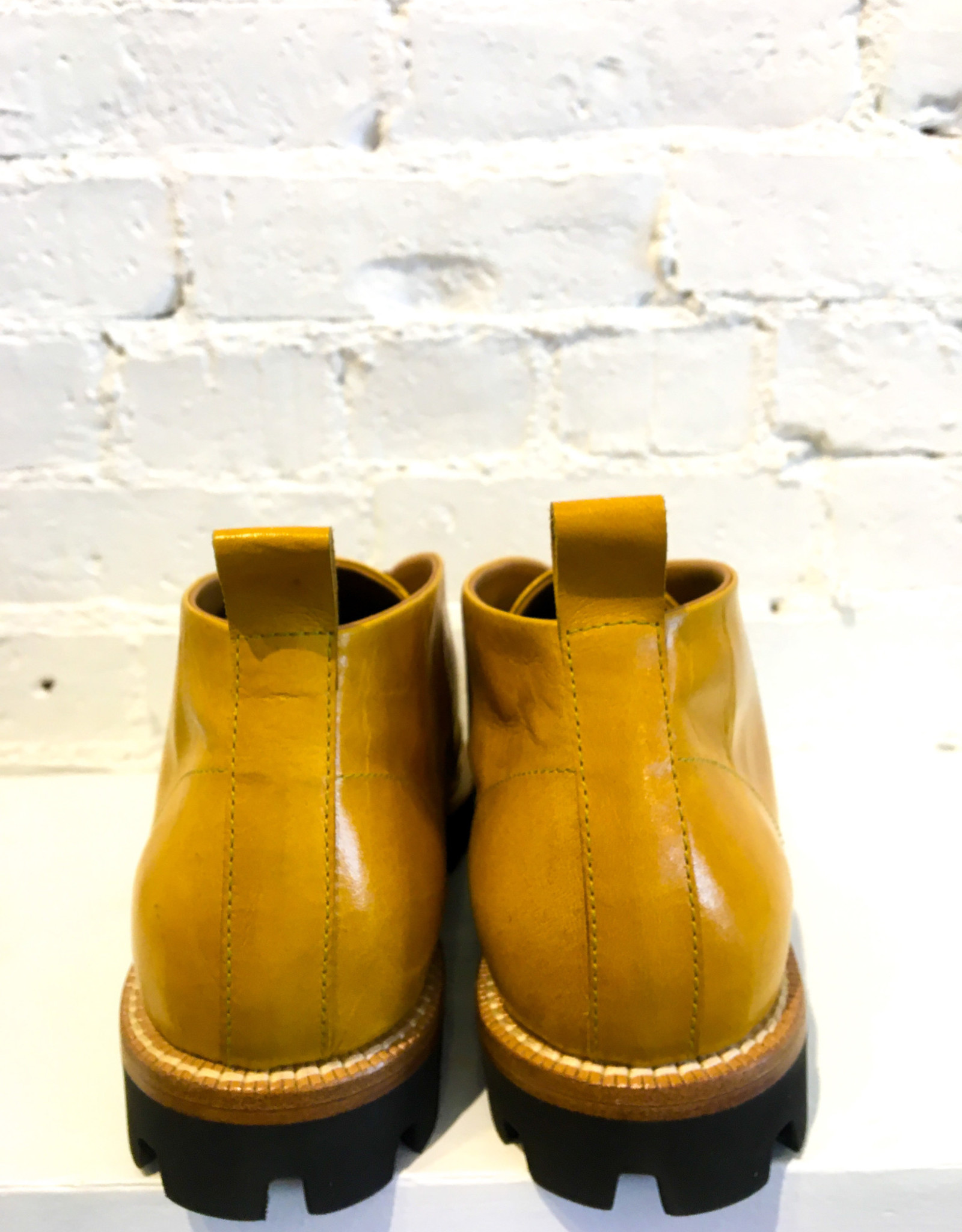 Cappelletti Desert Lace Up Boots- Yellow