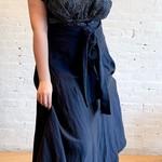 Échappées Belles Smoke Skirt- Blue