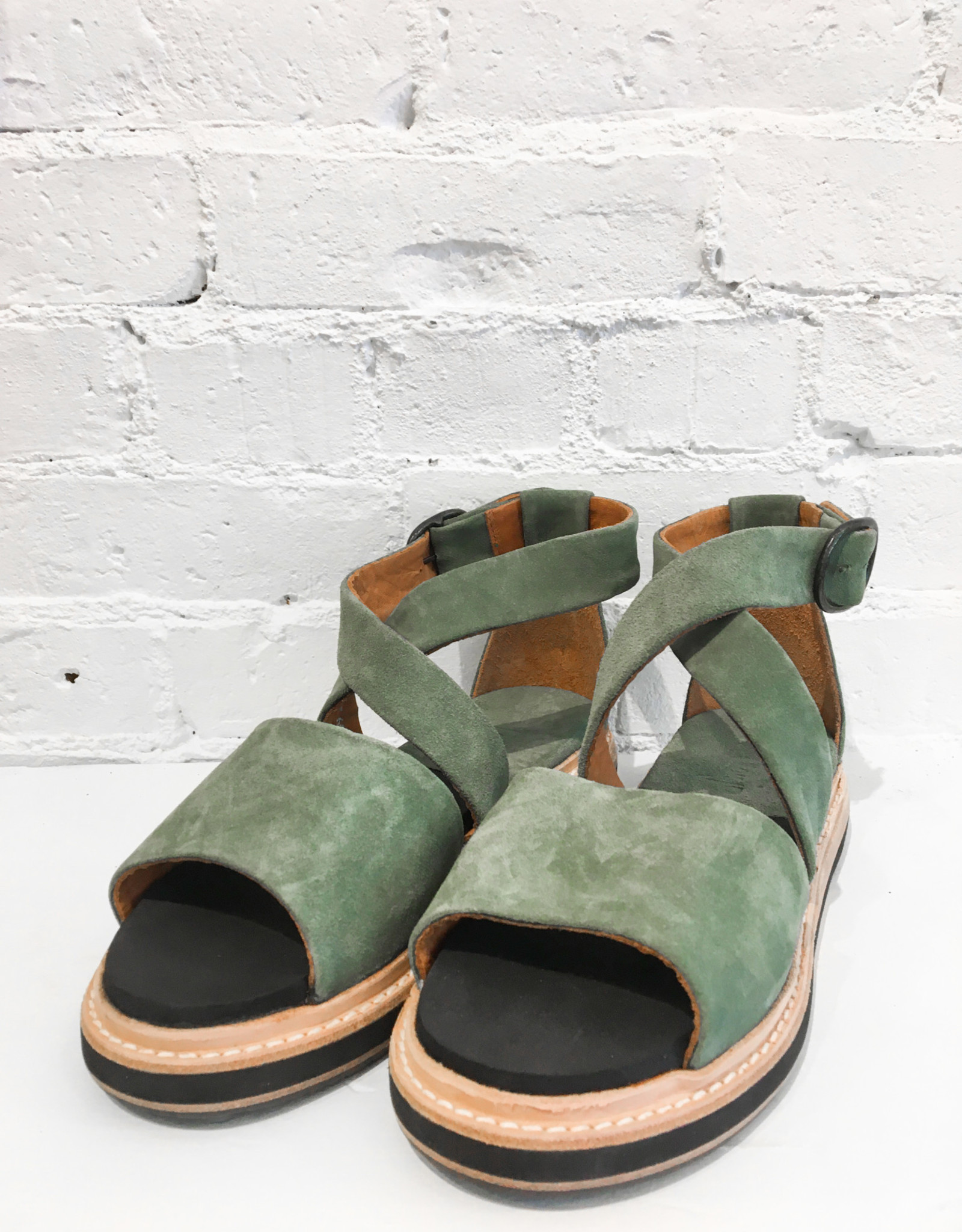 P. Monjo Softy Militaire Sandals