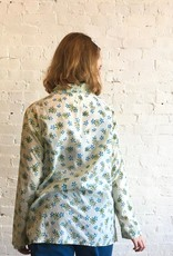 Auntie Oti Flower Print Button Up Shirt