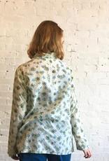 Auntie Oti Flower Print Button Up Shirt