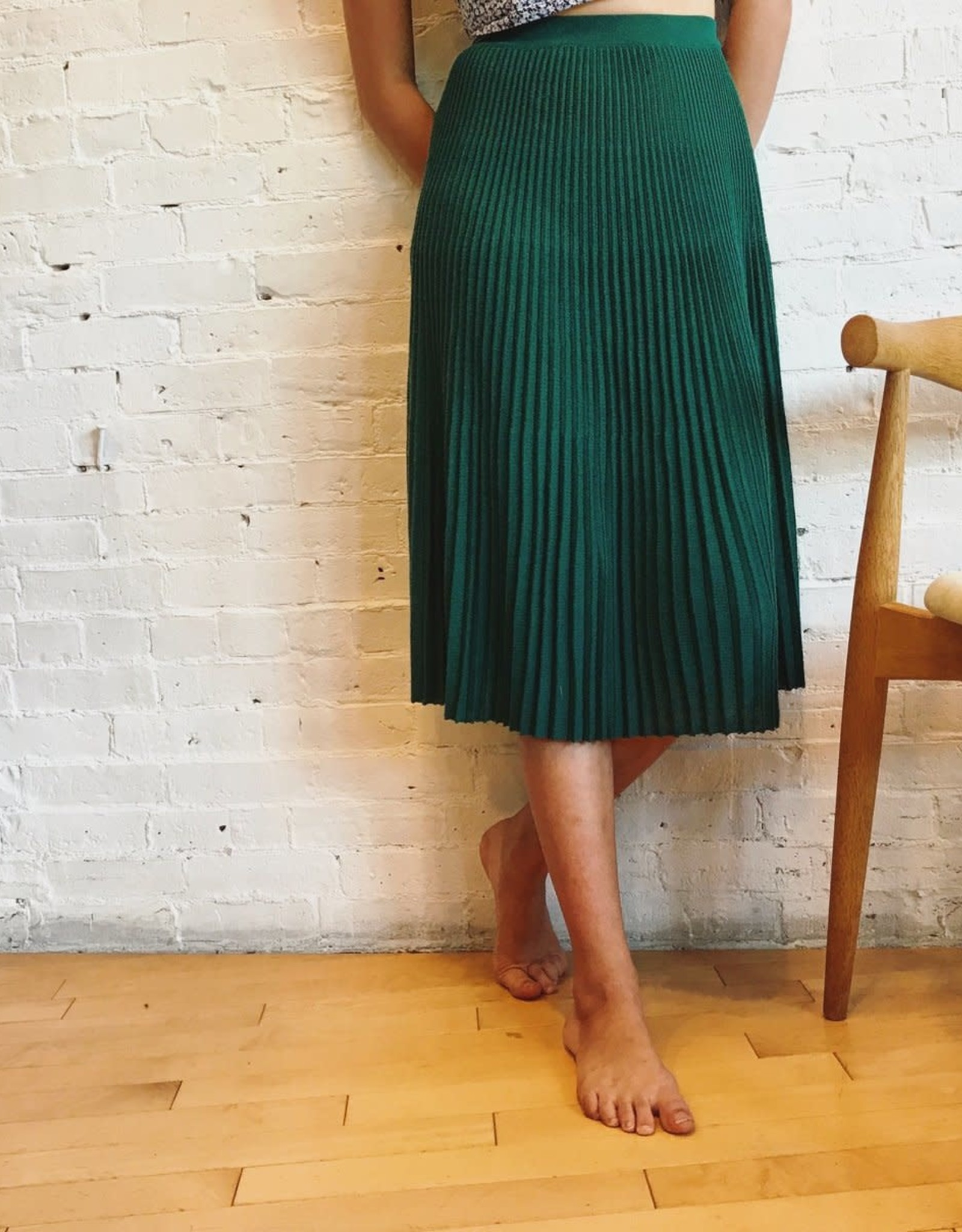 Catherine André Emerald Green Skirt
