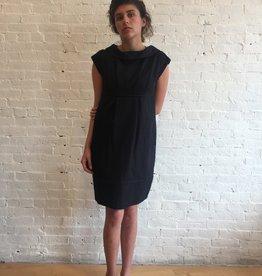 Virginia Bizzi Voreo Black Dress