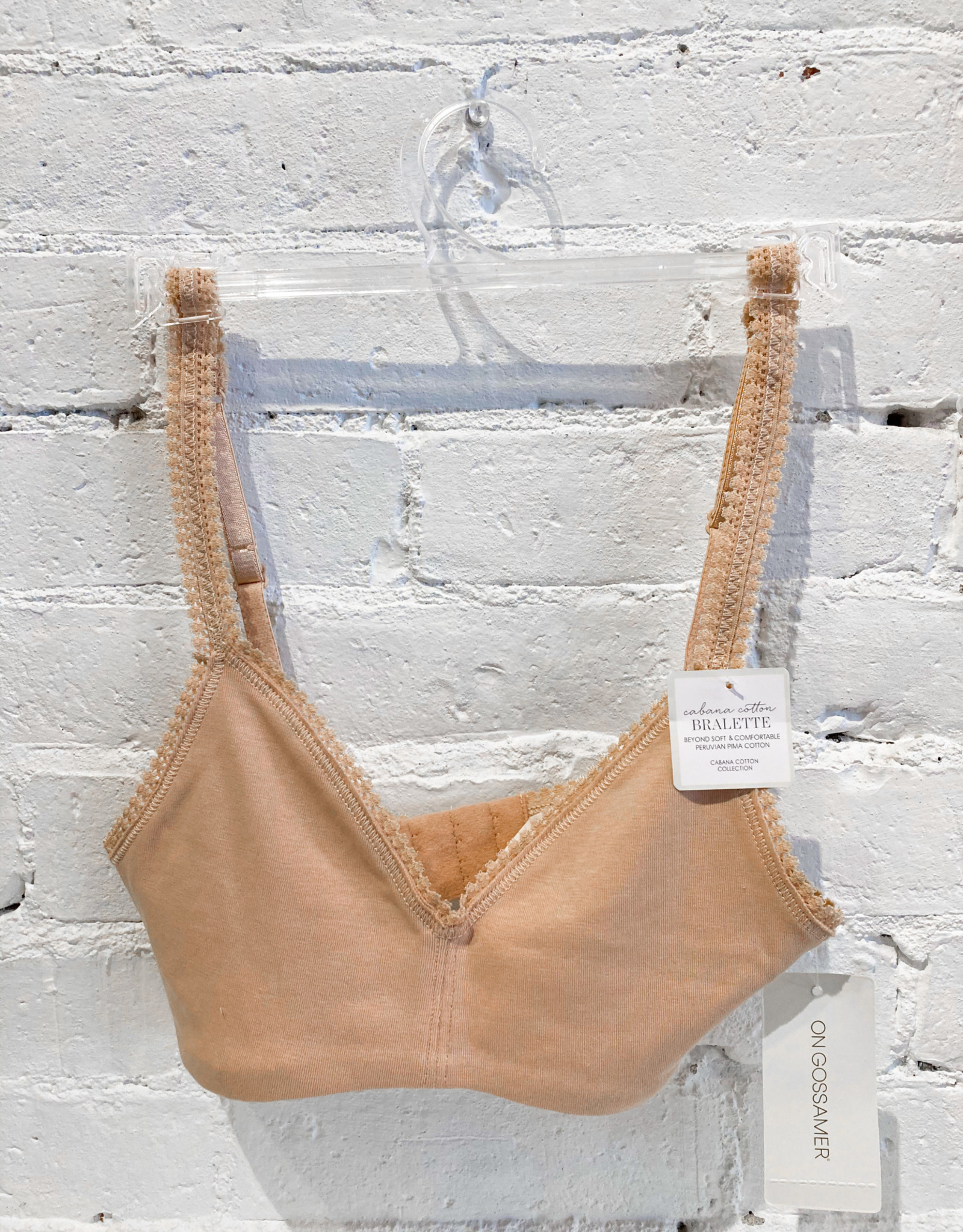 On Gossamer Cabana Cotton Bralette