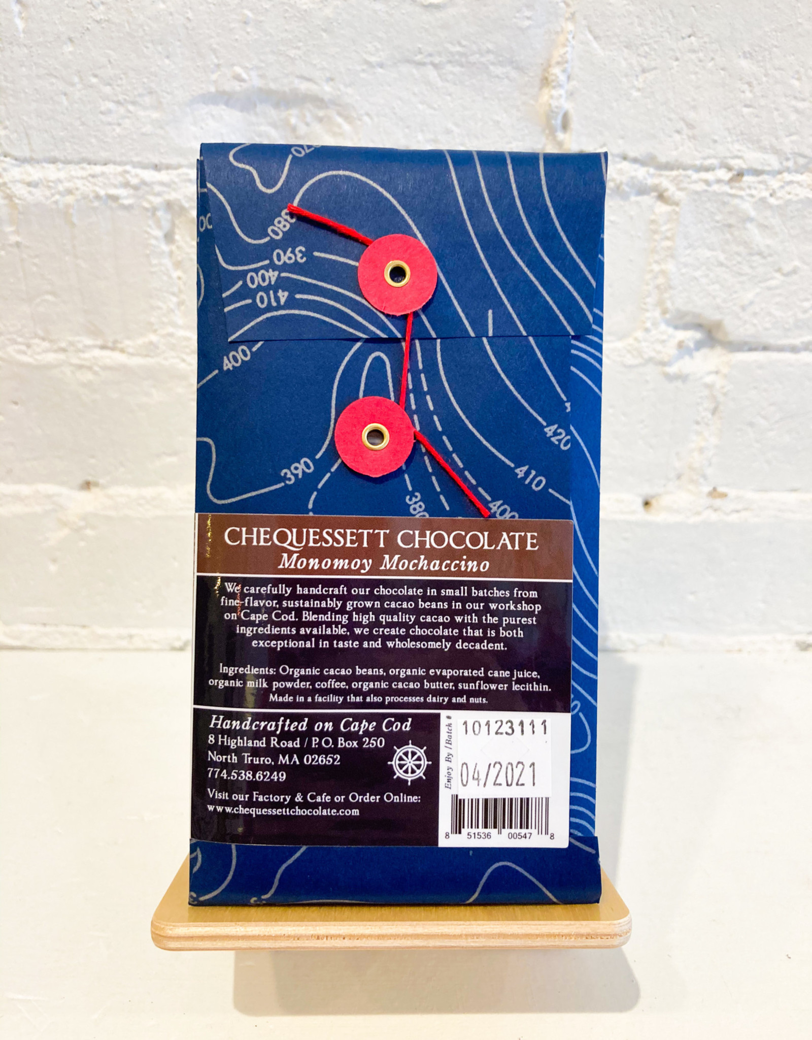 Chequessett Chocolate Monomoy Mochaccino Bar