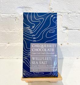 Chequessett Chocolate Wellfleet Sea Salt Bar