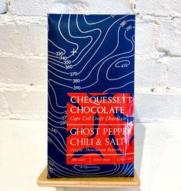Chequessett Chocolate Ghost Pepper Chili & Salt Bar