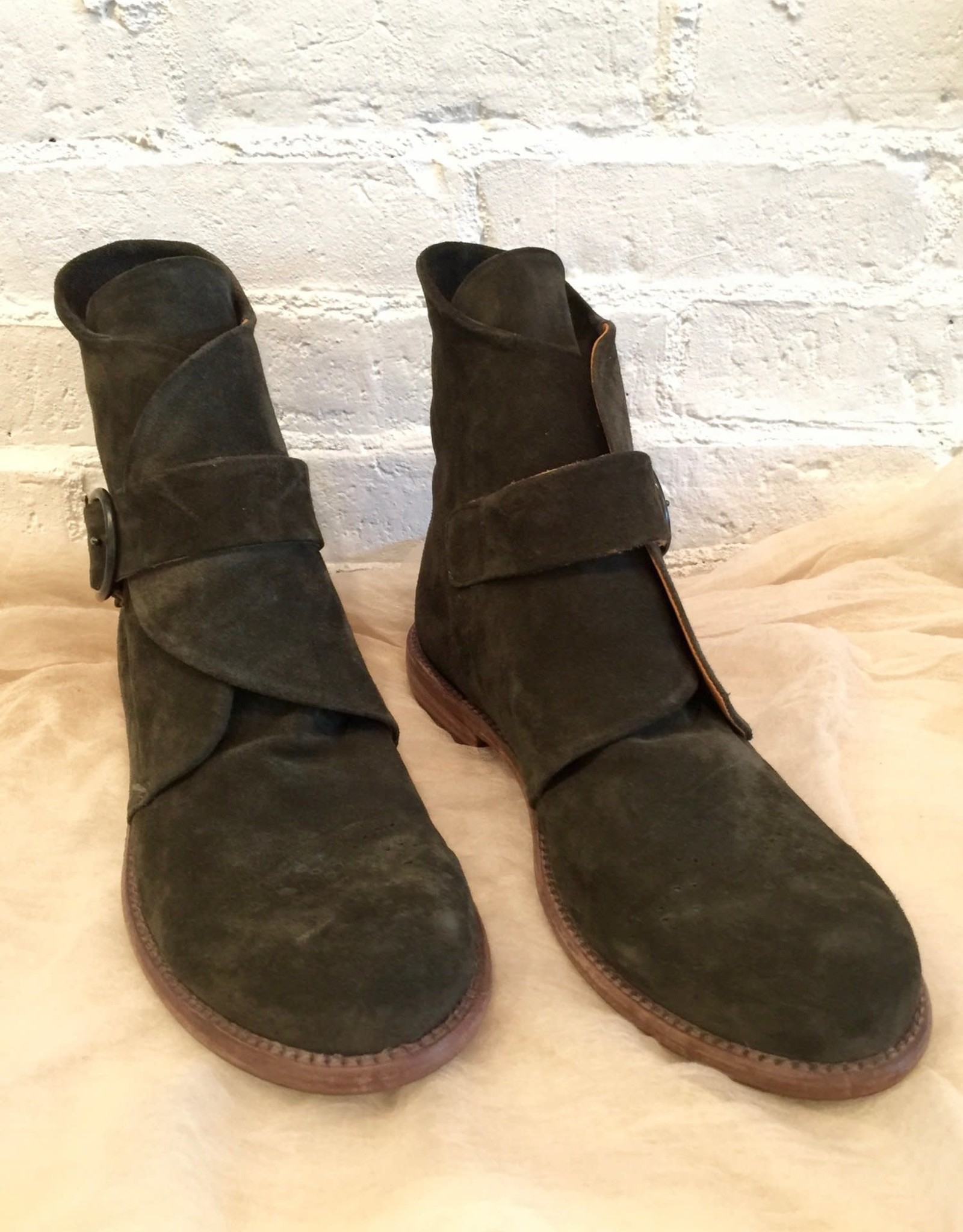 P. Monjo P. Monjo Suede Baker Boot