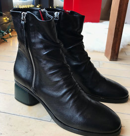 Halmanera Black Arisa Ankle Boot