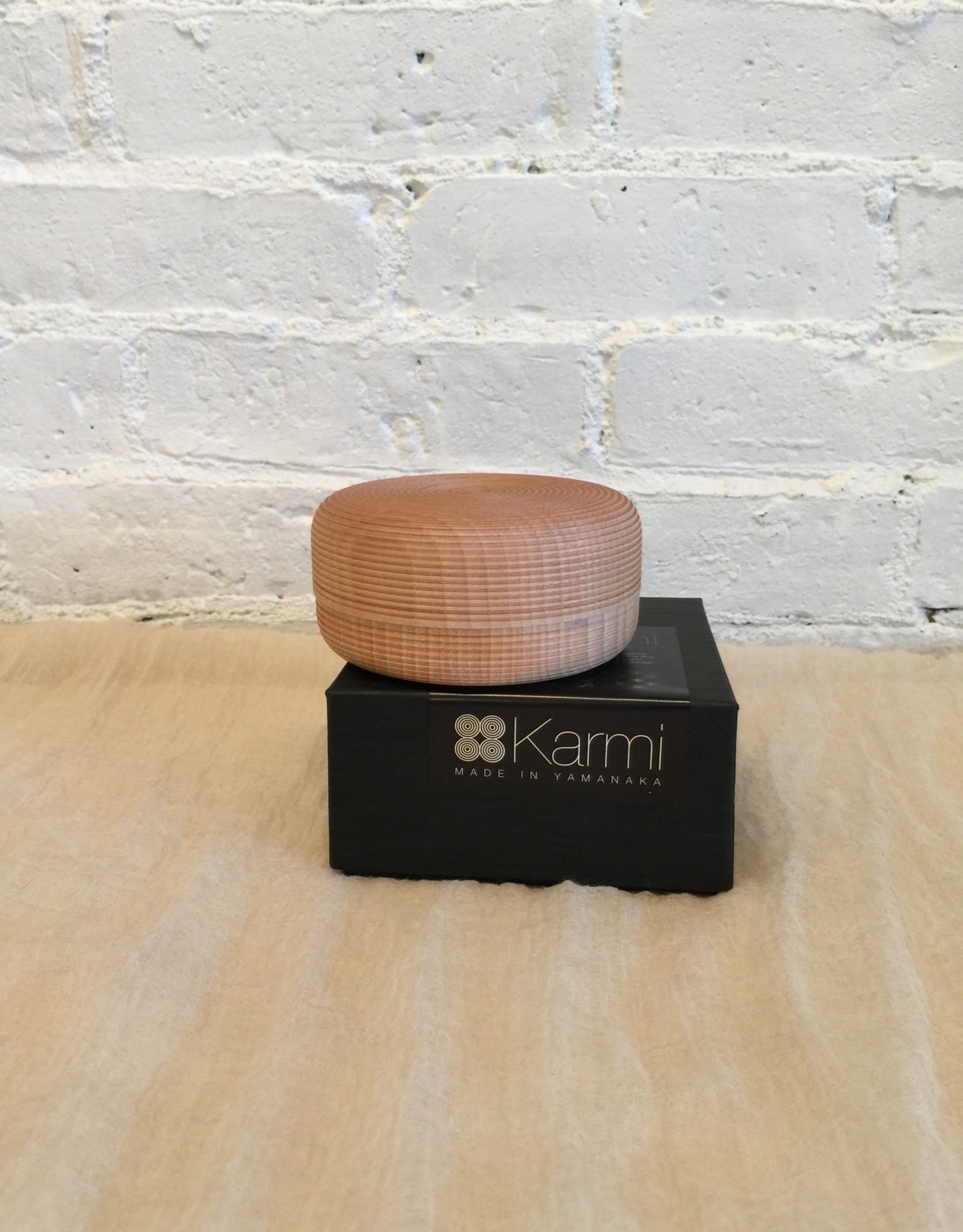 Karmi Natural Wood Tea Canister