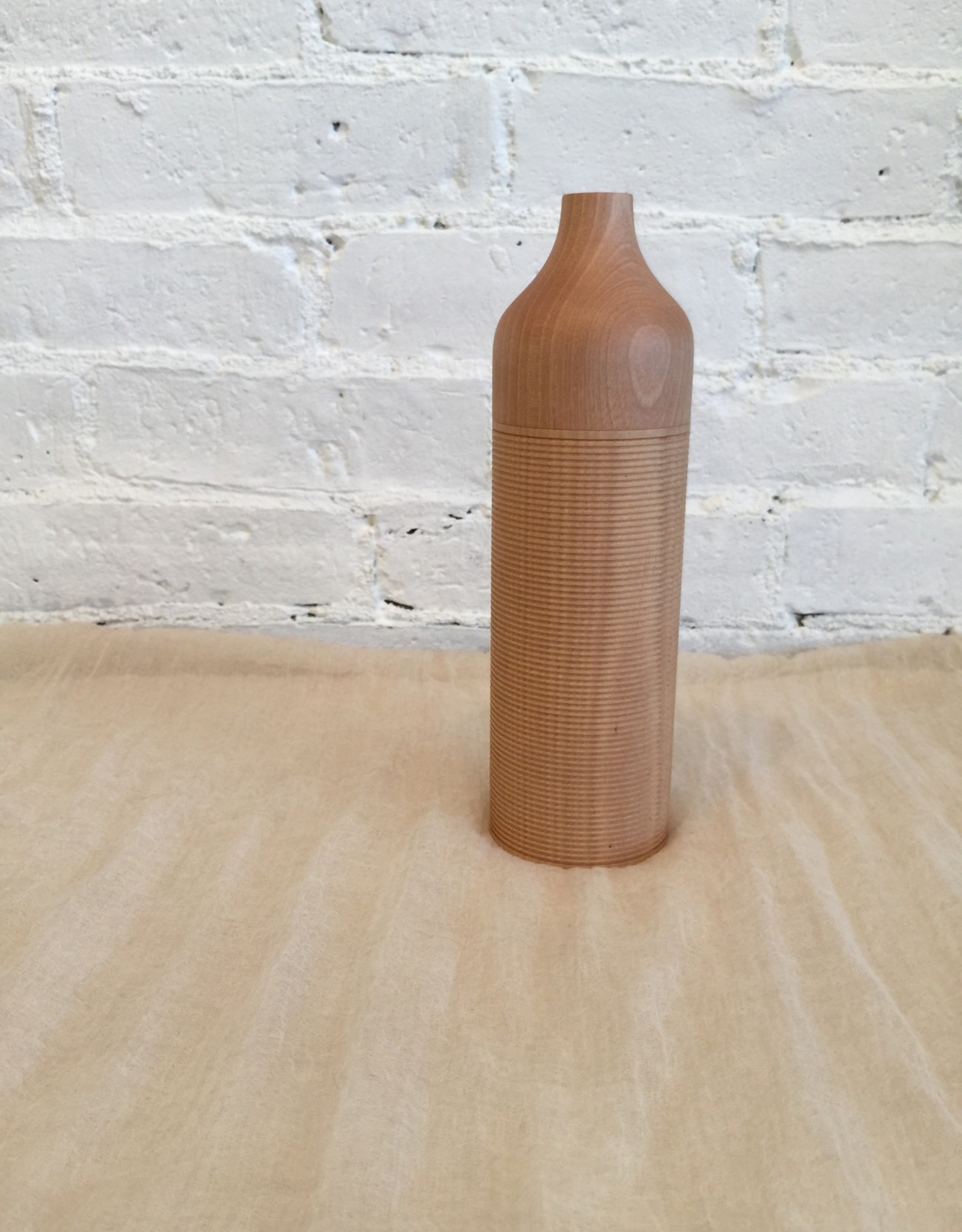 Karmi Syosen Tall Natural Tea Canister