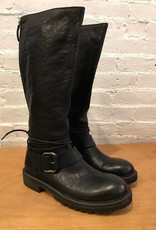 OXS Black Leather Boot
