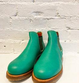Penelope Chilvers Emerald Green Leather Safari Boot