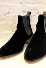 Penelope Chilvers Black Velvet Cubana Boot