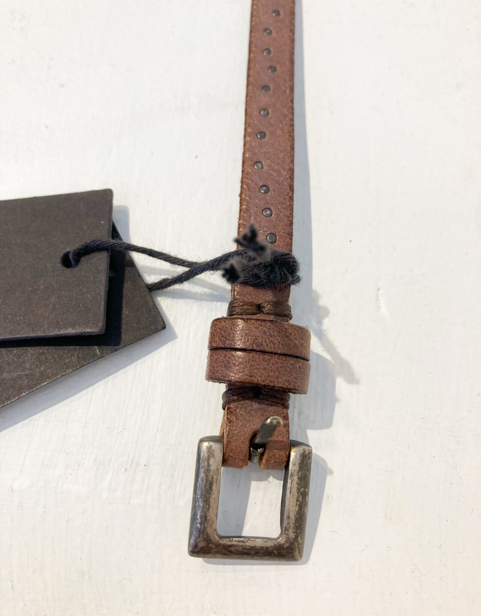 Post & Co Leather Belt