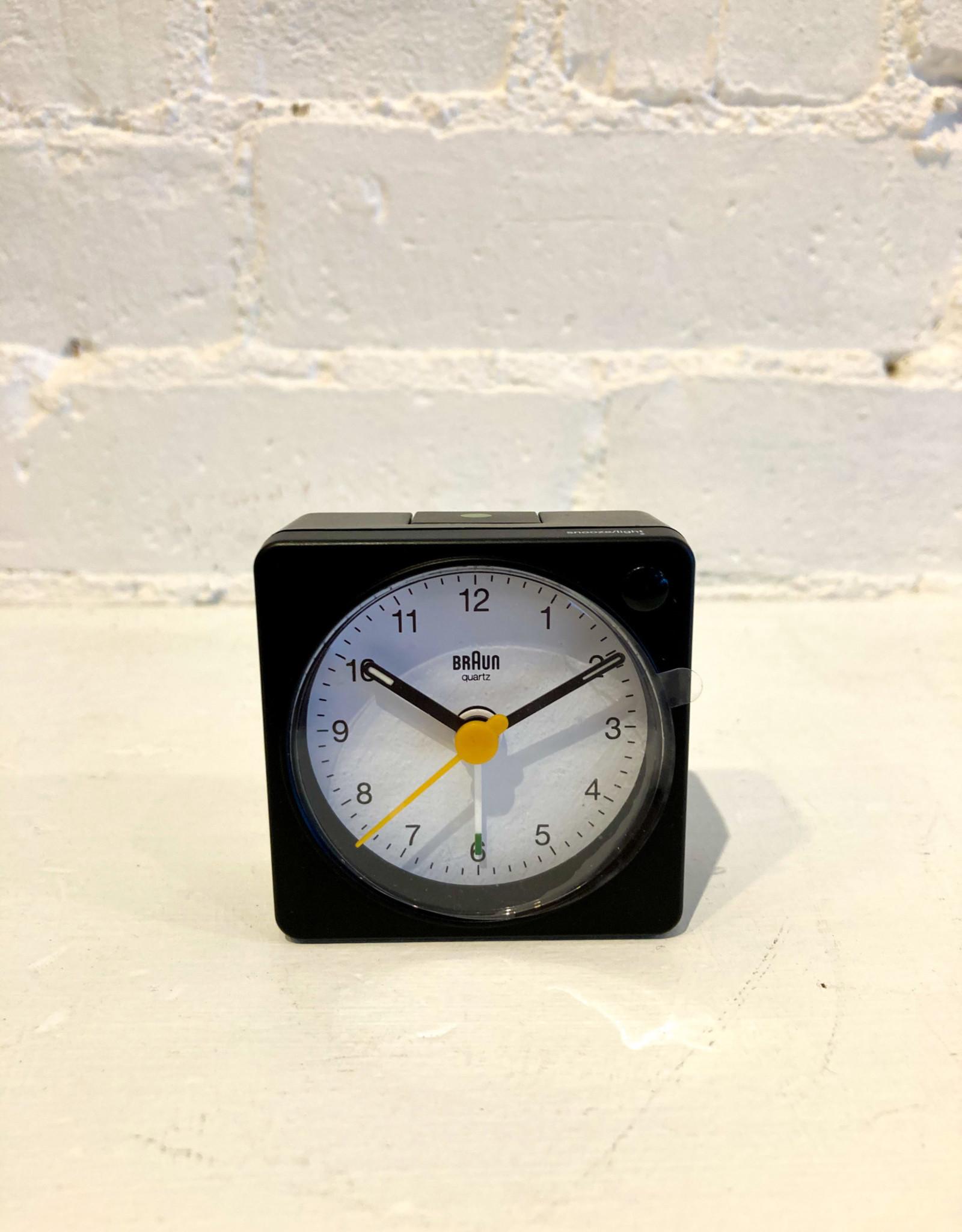 Braun Travel Alarm Clock: Black / BC02XBW