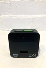 Braun Travel Alarm Clock: Digital Black: BNC008