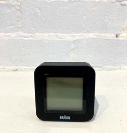 Braun Travel Alarm Clock: Digital Black
