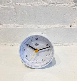 Braun Alarm Clock: White BC01W