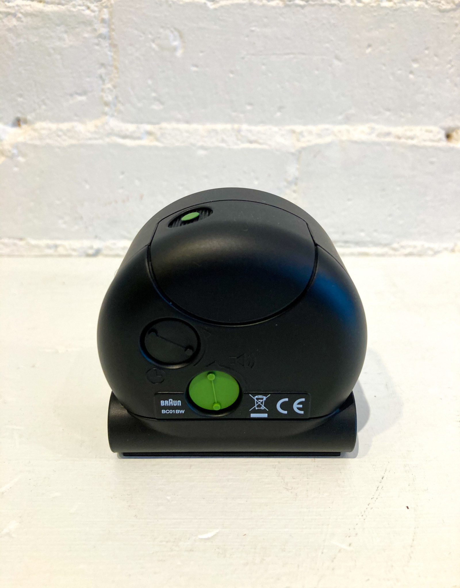 Braun Alarm Clock: Black BC01BW