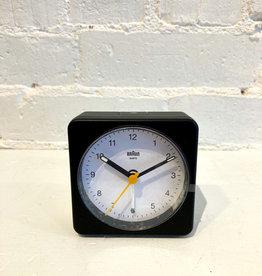 Braun Alarm Clock: White/ Black BC03BW