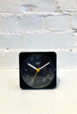 Braun Alarm Clock: Black on Black BC03B