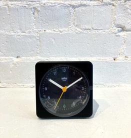 Braun Alarm Clock: Black on Black BC03B