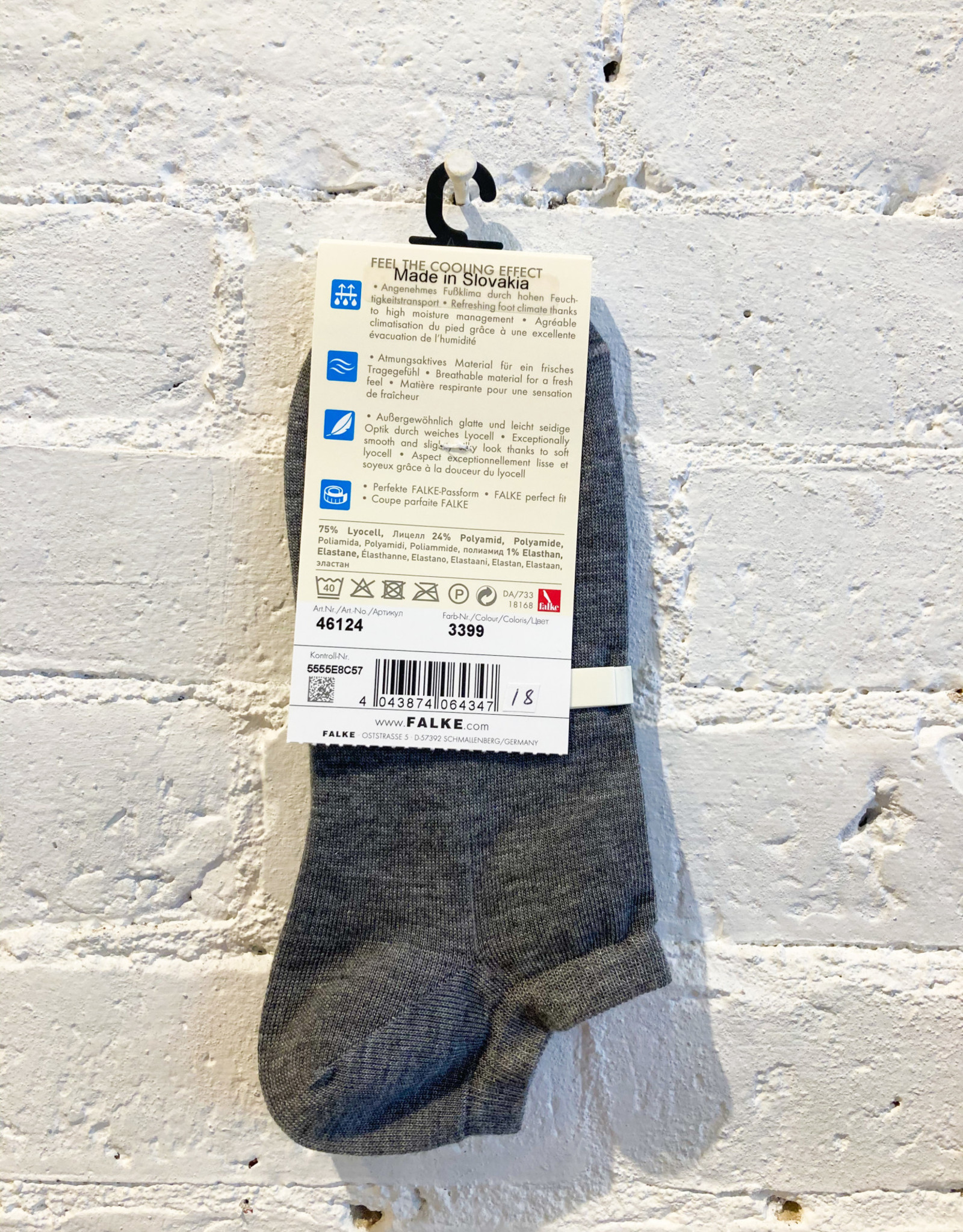 Falke Active Breeze Low Sock- Grey
