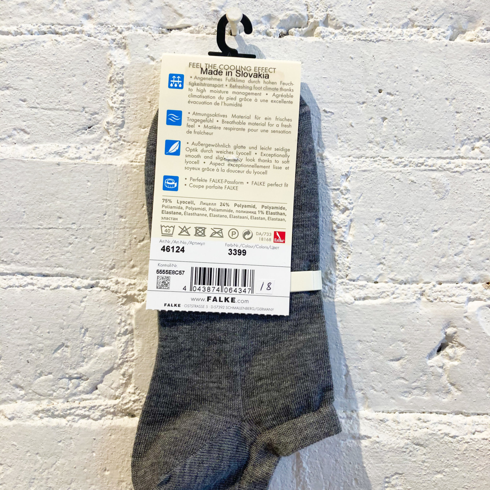 Falke Active Breeze Low Sock- Grey