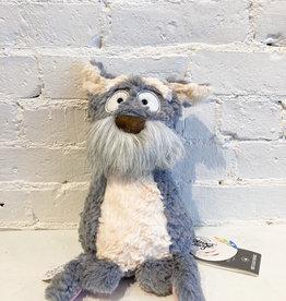 Sigikid Mutt Mutty Stuffed Animal: Grey