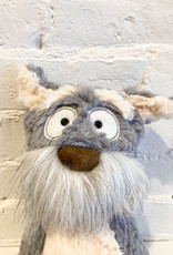 Sigikid Mutt Mutty Stuffed Animal: Grey