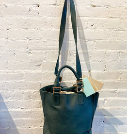 Lumi Tote Bag: Evergreen