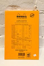 Rhodia Bloc Rhodia #16 Orange