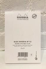 Rhodia Bloc Rhodia #13 White