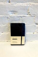 Rhodia Dot Hardcover Notebook Black