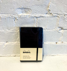 Rhodia Dot Hardcover Notebook Black