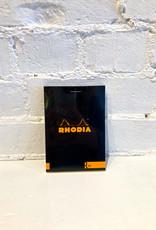Rhodia La Gamme Notepad Black