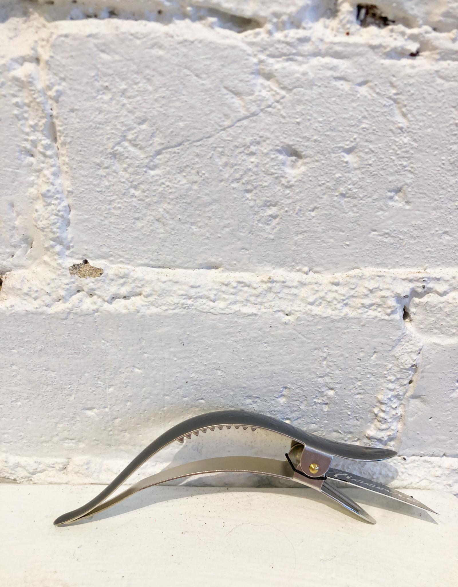 Ficcare Maximas Small Silver Hair Clip