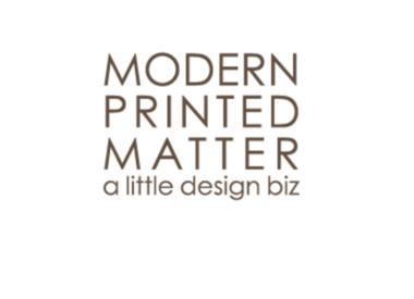 Modern Printed Matter