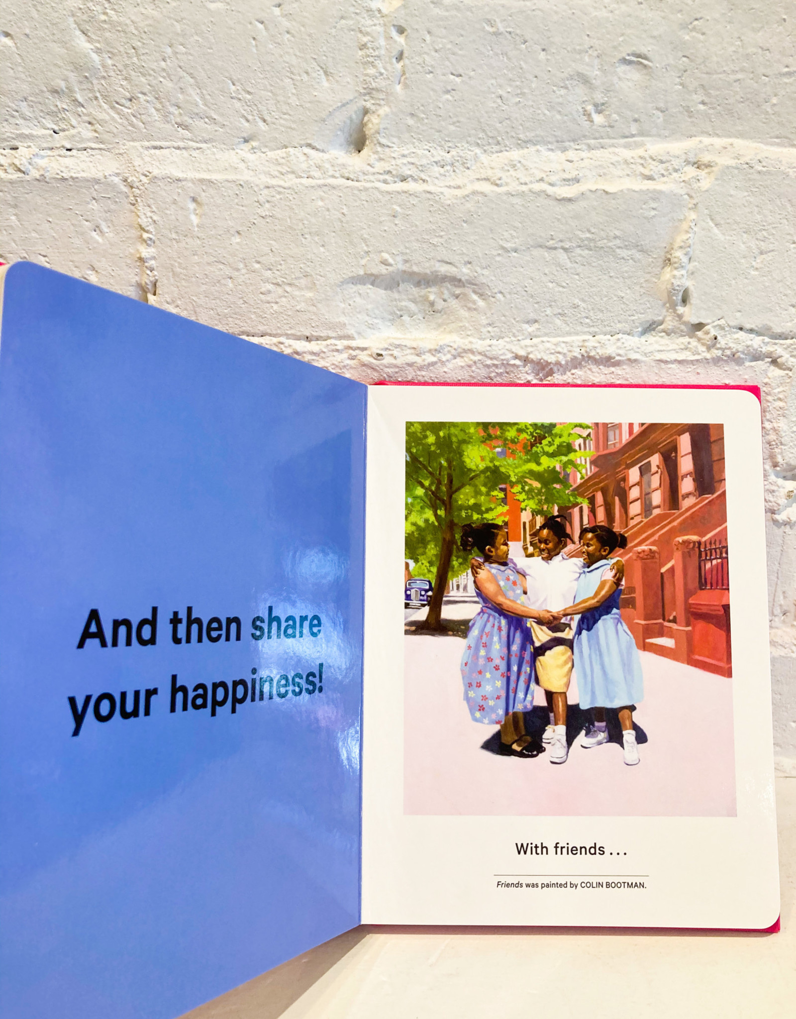 My Art Book of Happiness by Shana Gozansky