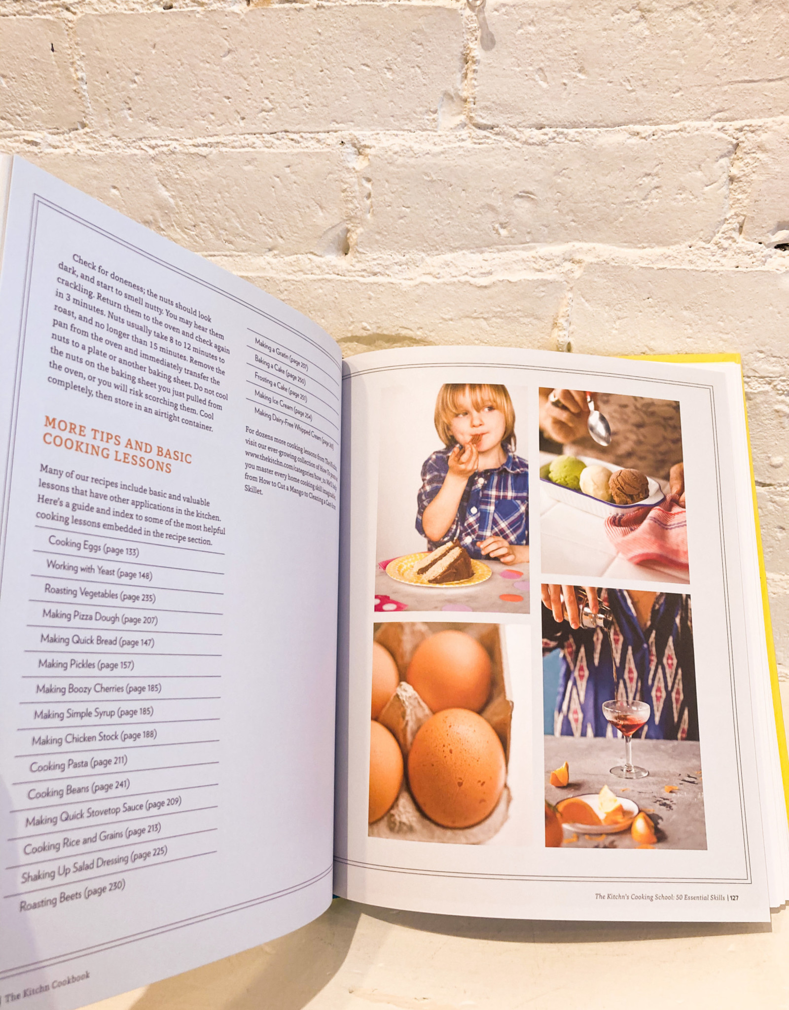 The Kitchn Cookbook by Sara Kate Gillingham & Faith Durand