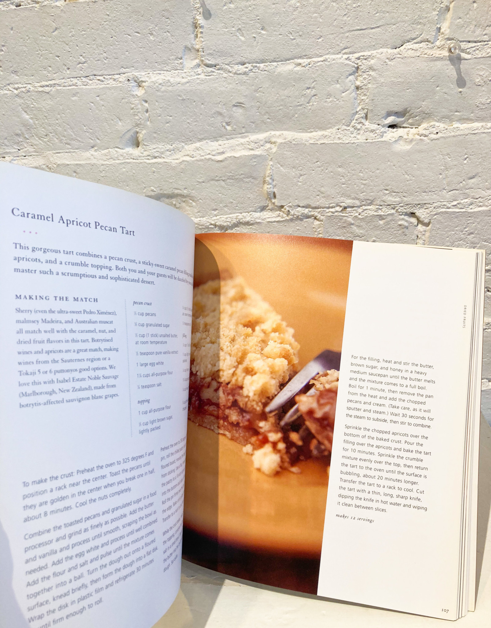The Wine Lover's Dessert Cookbook by Mary Cech and Jennie Schacht