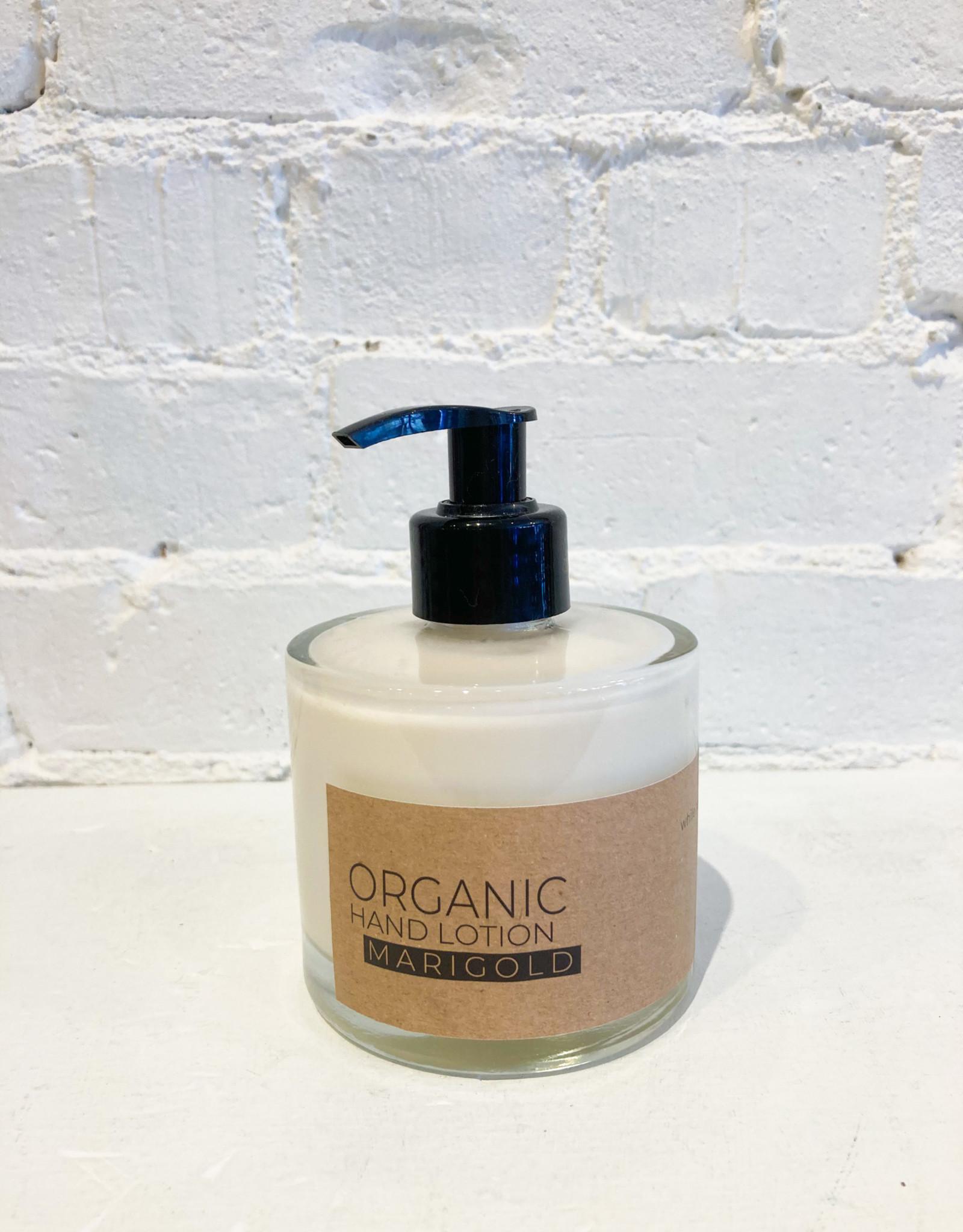 The Munio Organic Hand Lotion- Marigold