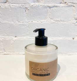 The Munio Organic Hand Lotion- Juniper